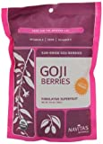 Navitas Naturals Goji Berries, 16-Ounce Pouches