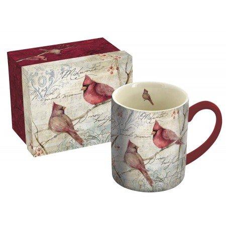 LANG Cardinal Pair Mug, 14-Ounce