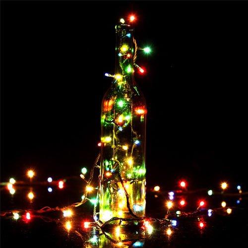 Xinyongjian Accessorio #T990 4M 100 LED bunte Licht-Blitz-Lampe per Weihnachtsfest-Dekoration-Licht