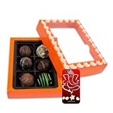Chocholik Belgium Chocolate Gifts - Exceptional Combination Of Tempting Truffles With 3d Mobile Cover For IPhone...