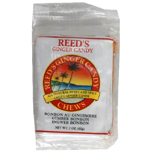 Reed's Ginger Candy Chews, 9-count (Pack of 20)
