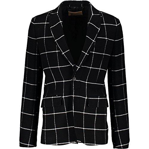 mens-john-galliano-black-white-checked-blazer-john-galliano-size-34