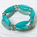Aqua Stone Bracelet Trio