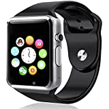 Micromax Bolt A58 Compatible and Certified Bluetooth Smart Watch with SIM Card Slot And NFC Cell Phone Watch Phone Remote Camera ( Get Mobile Charging Cable worth Rs 239 FREE & 180 days Replacement Warranty )