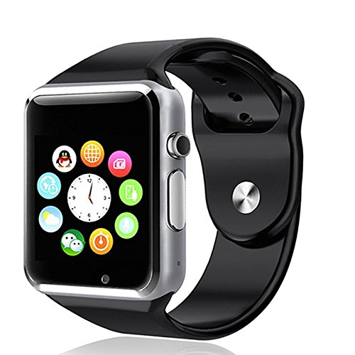 Moto G Compatible and Certified Bluetooth Smart Watch with SIM Card Slot And NFC Cell Phone Watch Phone Remote Camera ( Get Mobile Charging Cable worth Rs 239 FREE & 180 days Replacement Warranty )