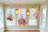 Disney Tangled Swirl Decorations 12ct [Toy] [Toy]