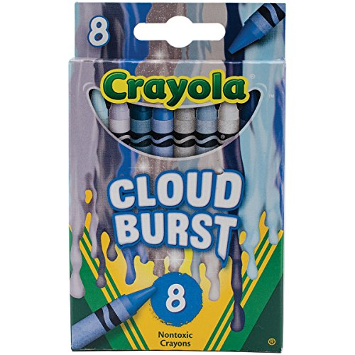 Crayola Meltdown Crayons (8 Pack), Cloud Burst