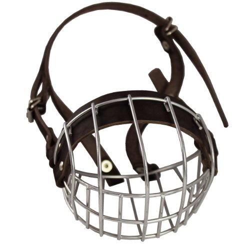 Metal Wire Basket Dog Muzzle Boxer, Bulldog Female. Circumference 13