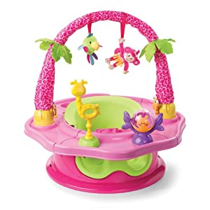 Summer Infant 3-Stage SuperSeat Deluxe, Giggles Island Girl