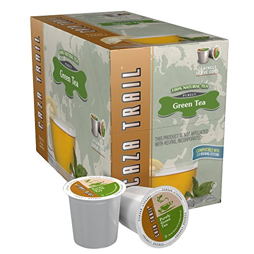 Caza Trail Tea, Green Tea, 24 Single Serve Cups (Single Serve Green Tea compare prices)