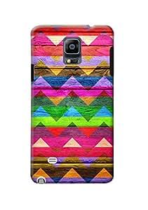 Samsung Galaxy Note 4 Designer Case Kanvas Cases Premium Quality 3D Printed Lightweight Slim Matte Finish Hard Back Cover for Samsung Galaxy Note 4