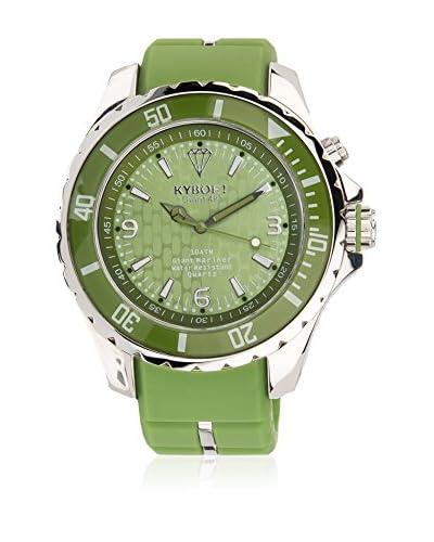 KYBOE! Reloj automático Unisex Verde Agua 55 mm