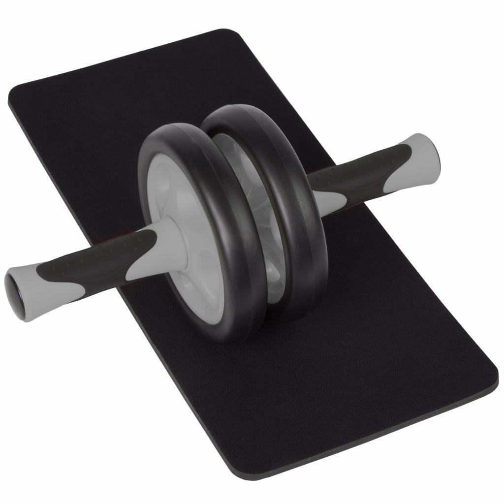ultrasport ab roller bauchtrainer gr n. Black Bedroom Furniture Sets. Home Design Ideas
