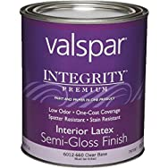 Integrity Latex Semi-Gloss Wall Paint And Primer In One Paint-INT S/G CLEAR BS P
