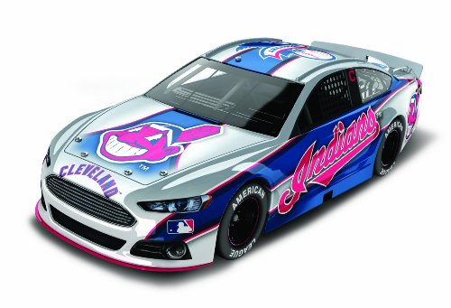 Cleveland Indians Major League Baseball Hardtop Diecast Car, 1:64 Scale