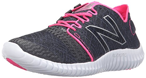 New Balance Women's 730v3 Running Shoe, Black/Amp Pink, 9 B US