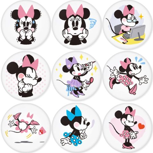 MICKEY MOUSE round badges 1.75