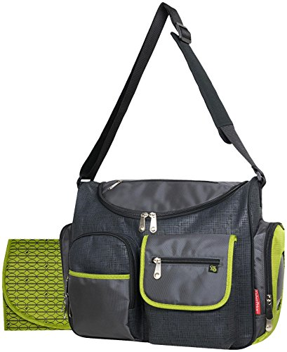 Fisher Price Color Block Wide Opening, Black (Fisher Price Black Diaper Bag compare prices)