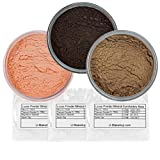 Pure Mineral Eyeshadow Set - SALMON PINK/BROWN