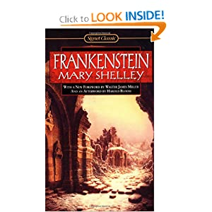 Amazon.com: Frankenstein (Signet Classics) (9780451527714): Mary Shelley, Harold Bloom, Walter