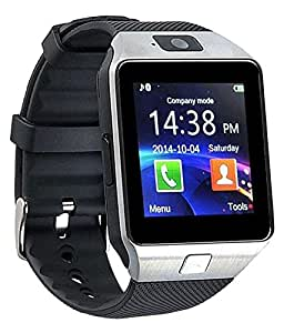 MOBICELL Acer Liquid Jade 2 COMPATIBLE Bluetooth Smart Watch Phone With Camera and Sim Card Support With Apps like Facebook and WhatsApp Touch Screen Multilanguage Android/IOS Mobile Phone Wrist Watch Phone with activity trackers and fitness band features by mobicell
