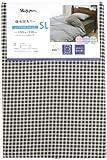 メリーナイト 掛布団カバー 「ギンガム」 シングルロング ブラウン PC12101-93