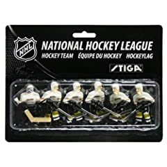 Stiga Anaheim Mighty Ducks Table Rod Hockey Players by Stiga