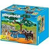 Playmobil - 4828 - Jeu de construction - Buffle africain avec z�brespar Playmobil