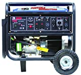 ETQ TG72K12 8,250 Watt 13 HP 420cc 4-Cycle OHV Gas Powered Portable Generator with Electric Start