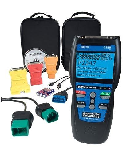 Innova 3120 herramienta de escáner diagnóstico/lector de código para vehículos OBD1 y OBD2