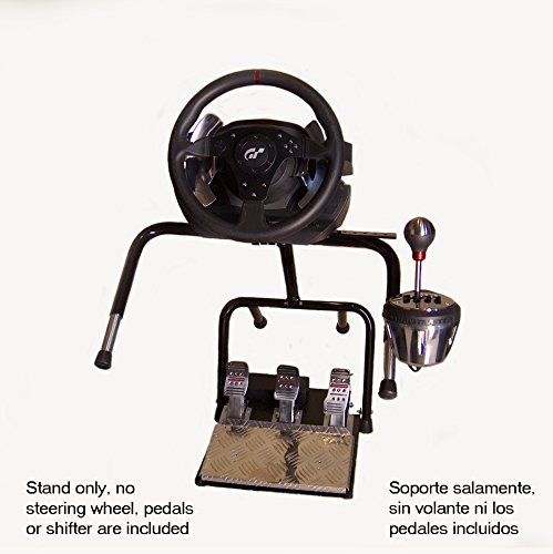 XL21D Big Boy Stand w/XL60R shifter adapter for Thrustmaster TX, T300RS, TH8A, Logitech G29, G920 (Xbox 360 Steering Wheel Stand compare prices)