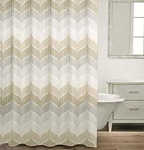 Amazon Com Caro Home 100 Cotton Shower Curtain Wide