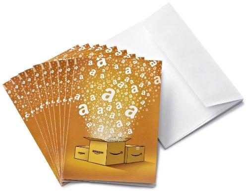 Amazonギフト券 - グリーティングカードタイプ - 500円×10枚 (Amazonオリジナル)