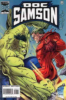 Doc Samson #1 VF/NM ; Marvel comic book (Doc Samson 1 Marvel compare prices)