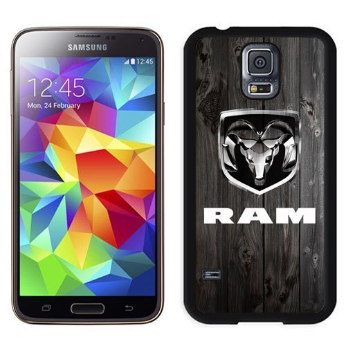 Durable and Nice Galaxy S5 Case,Durable I9600 Case Design with Dodge Ram Samsung Galaxy S5 SV I9600 Case in Black (Nice Dodge compare prices)