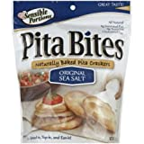 Sensible Portions, Cracker Pita Sea Salt, 5 OZ (Pack of 12)
