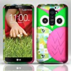 [Windowcell] Lg G2 (T-mobile) - Rubberized Design Cover - Owl