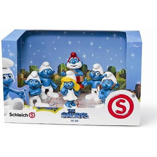 Schleich  슈라이히  THE SMURFS  스마후  영화 세트 41260-41260