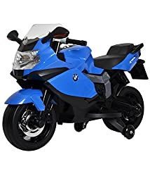 Brunte Battery Operated BMW Bike Rideon Blue