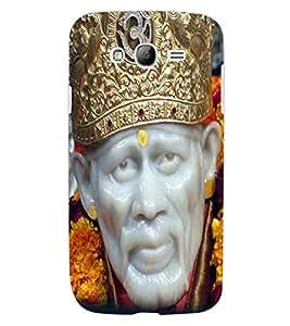 ColourCraft Lord Sai Baba Design Back Case Cover for SAMSUNG GALAXY GRAND Z I9082Z