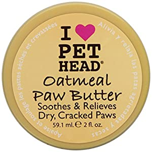 Pet Head Oatmeal Natural Paw Butter, 2-Ounce