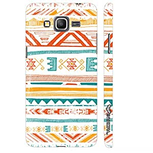 Samsung Galaxy J2 Aztec Art 2 designer mobile hard shell case by Enthopia