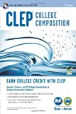 img - for CLEP  College Composition Book + Online (CLEP Test Preparation) book / textbook / text book