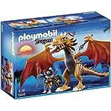 Playmobil - 5483 - Figurine - Dragon D'Or Avec Soldat