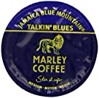 Marley Coffee Talkin Blues Coffee, 100% Jamaica Blue Mountain, Single Serve RealCup for Keurig K-cup Brewers, 24 Count