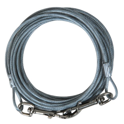 Artikelbild: Aspen Pet 920-Pound Break Strength Tieout Cable, 30-Feet by Cider Mills