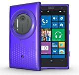 TUDIA Ultra Slim Melody Series TPU Protective Case for Nokia Lumia 1020 / Nokia EOS (Purple)