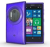 TUDIA Ultra Slim Melody Series TPU Protective Case for Nokia Lumia 1020 / Nokia EOS (Purple)