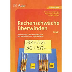 eBook Cover für  Rechenschw xE4 che xFC berwinden 1 Fehleranalyse und Lernstandsdiagnose mit Materialien und Kopiervorlagen BD 1