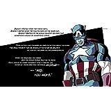 Posterhouzz Comics Civil War Quote Captain America HD Wallpaper Background Fine Art Paper Print Poster